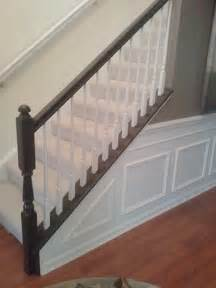 diy painting stair railings fixing color mistakes