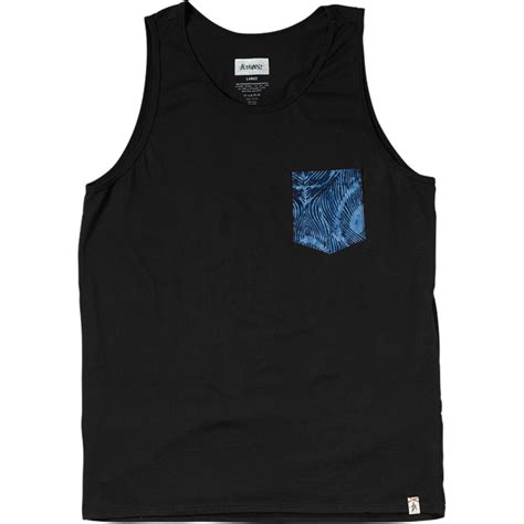tank tops altamont peacock pocket tank top evo outlet