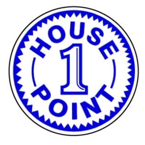 the pint house 1 house point ster school merit stickers
