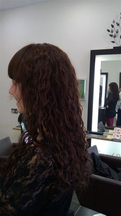 perms with fringes pin by amber ward on hair styles pinterest