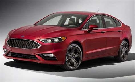 sporty family cars ford fusion