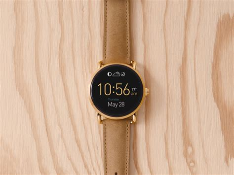 fossil q wander release date price and specs cnet