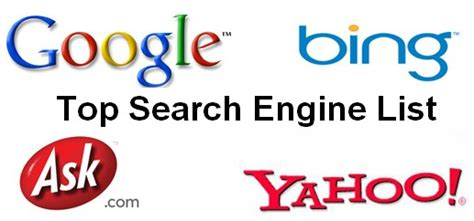 top 5 alternative search engines list