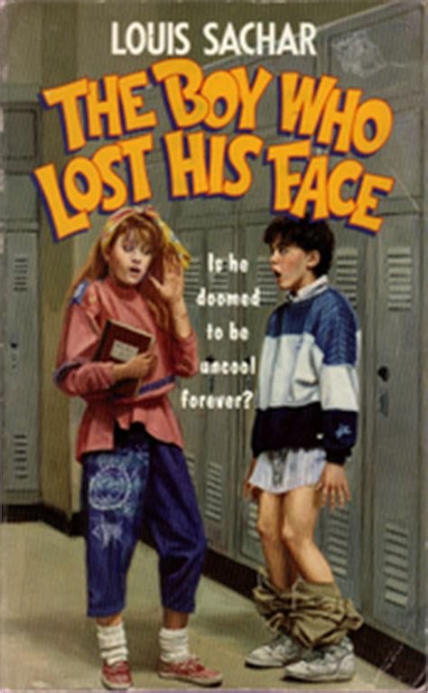 the boy who lost his face by louis sachar fictiondb the boy who lost his face louis sachar paperback 0440846757