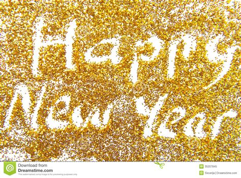 new year 2012 golden happy new year golde stock image image of decoration