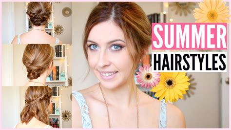 easy to make summer hairstyles quick easy summer hairstyles for any length hair