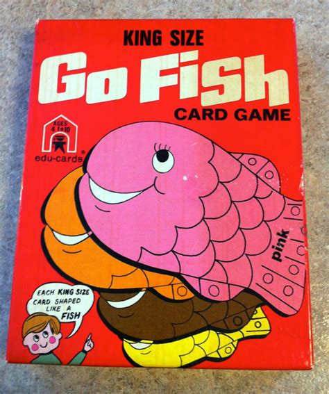 make your own go fish cards vintage go fish card by sixthstreetmarket on etsy