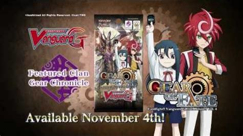 cardfight vanguard g clan booster vol 4 gear of