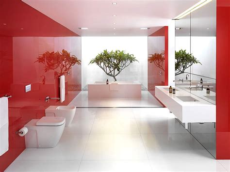 red and white bathroom red and white bathroom interior deniz homedeniz home