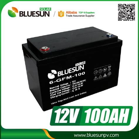 100 Cycle Battery Price - bluesun 12 v 90ah 100ah cycle agm batterie mit best
