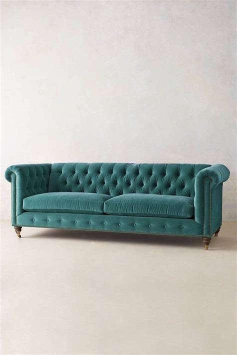 Turquoise Chesterfield Sofa 1000 Images About Kestrel S Oaktown Hideaway Feathering The Nest On Velvet One