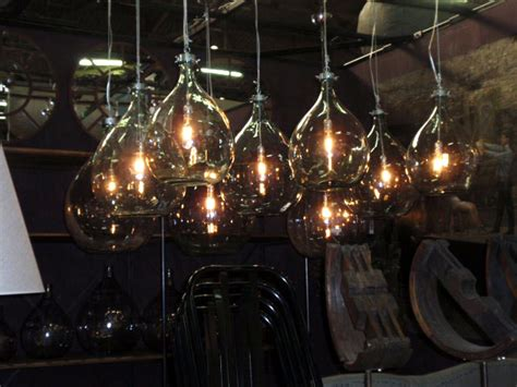 Cool Hanging Lights Recycled And Repurposed Glass Bottles Hudson Goods