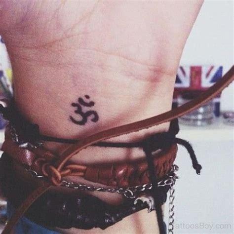 om tattoo on right wrist om tattoo design on wrist