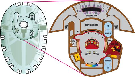 Starship Floor Plan by Enterprise D Bridge Puente By Godstaff On Deviantart