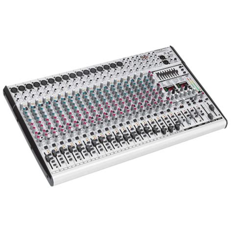 Mixer Eurodesk disc behringer sl2442fx pro eurodesk mixer at gear4music