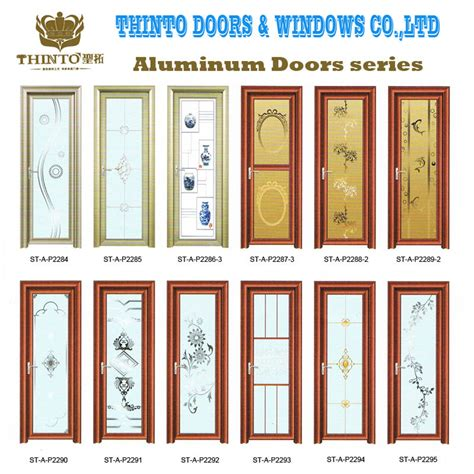 best types of bathroom doors wholesale european style designer aluminium bathroom doors