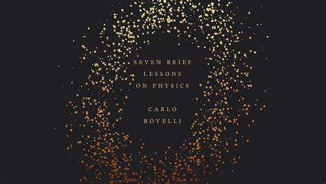 seven brief lessons on a poetic contemplation of physics book review science and nonduality science and nonduality