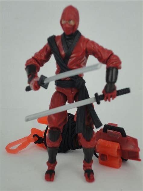 film ninja red gijoe retaliation red ninja zartan movie action figures