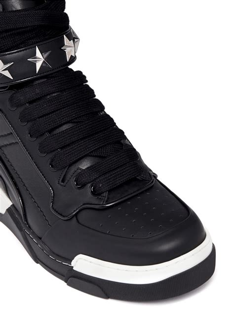 givenchy sneakers mens givenchy stud high top sneakers in black for lyst