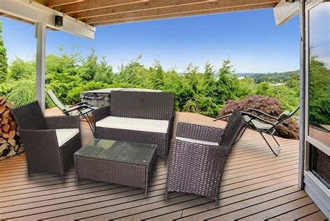 Garden Furniture Deals by Wowcher Deal 163 129 Instead Of 163 699 For A Four
