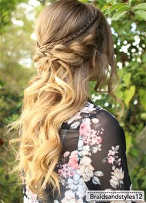 prom downdo hairstyle inspiration for 2016 2016 half up half down prom hairstyles fashion trend seeker