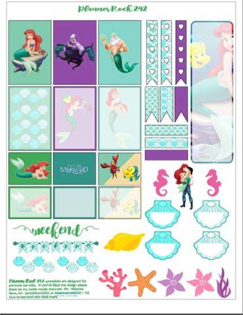 printable mermaid stickers the little mermaid free printable mermaids the o jays
