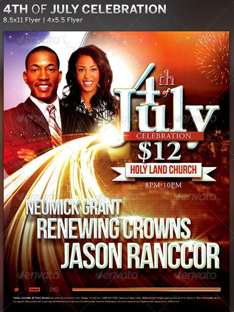 free flyer templates for church events free flyer 17 church program fireworks templates psd images