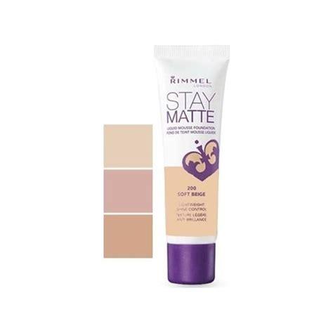 Rimmel Stay Matte Liquid Mousse rimmel stay matte liquid mousse foundation 30ml