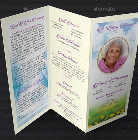 16 Funeral Memorial Program Templates Free Psd Ai Eps Format Download Free Premium Memorial Template Microsoft Word
