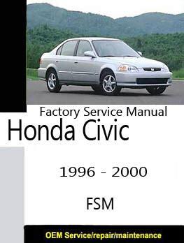 honda civic 1996 2000 ek9 ek4 ek5 ek3 ej6 ej7 ej8 ej9 em1 repair manual