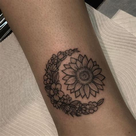 sun and moon wrist tattoos floral sun and moon 20 kickass things