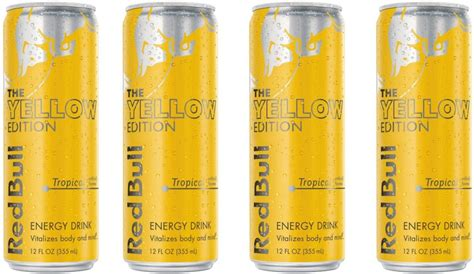 energy drink 4 pack price bull yellow edition 355 ml pack of 4 energy drink
