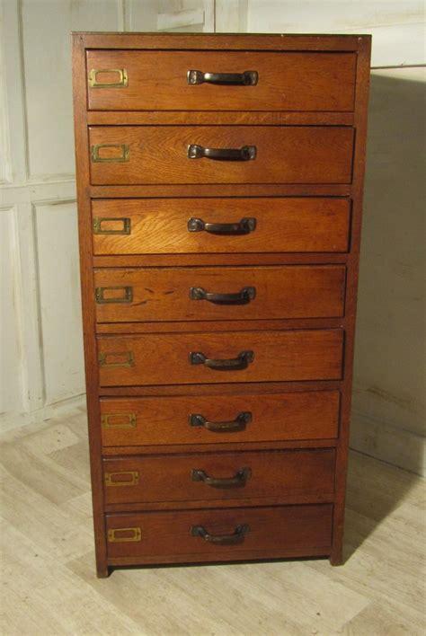 antique oak file art deco 8 oak filing 252767