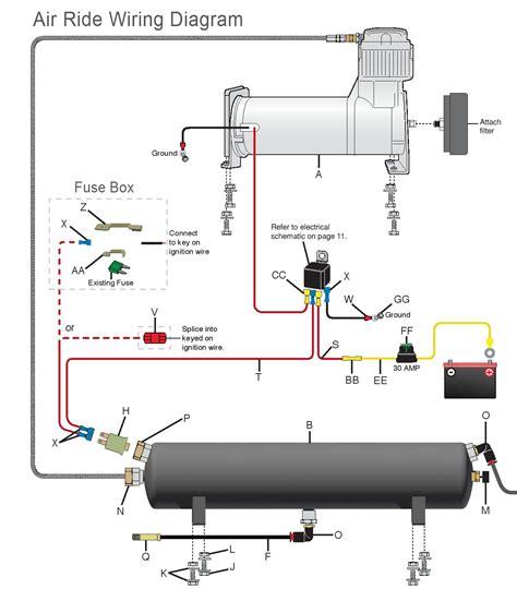 manual air ride management kit wiring valve pneumatic