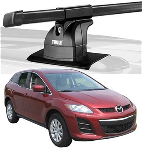 Mazda 3 2010 Roof Rack by 2010 Mazda Cx 7 Roof Rack Complete System Thule Podium