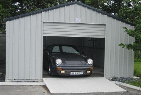 Car Garages In Carlow by Steel Garages Garages Ireland Metal Garages Garages