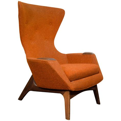 Design For Modern Wing Chair Ideas Midcentury High Back Wing Chair By Adrian Pearsall At 1stdibs