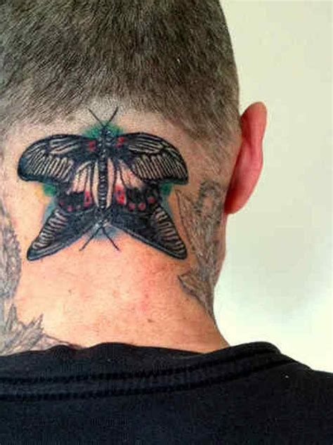 big butterfly tattoo designs 63 beautiful neck butterfly tattoos