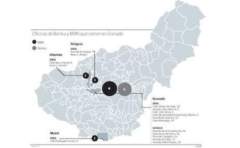 oficinas bankia granada bankia y bmn cerrar 225 n el 6 de sus oficinas en granada