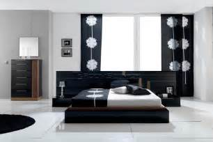 Black And White Bedroom Furniture by House Designs Black And White Contemporary Modern Bedroom