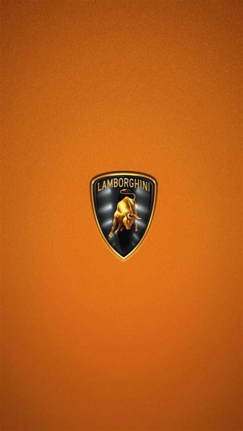 lamborghini wallpaper hd iphone 5 lamborghini logo hd orange wallpaper iphone wallpaper