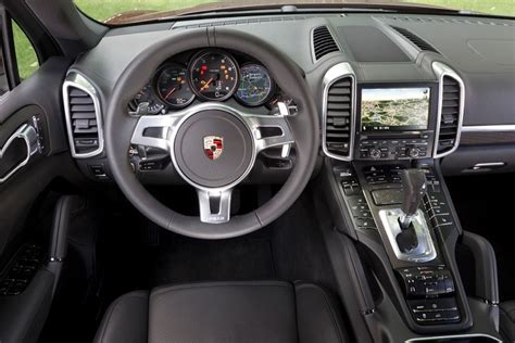 porsche suv 2015 interior porsche cayenne a sports car for the whole family auto