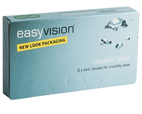 easyvision classic toric monthly disposable lenses specsavers