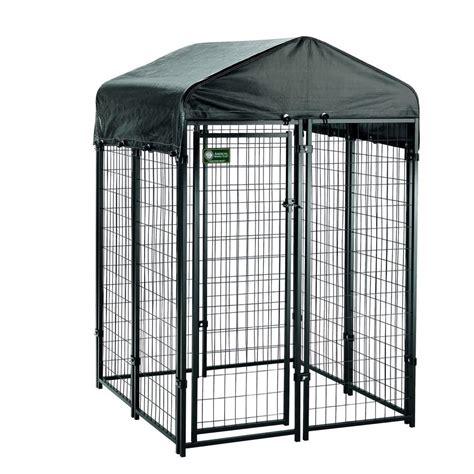 kennel kits american kennel club 4 ft x 4 ft x 6 ft uptown premium kennel kit 308605akc