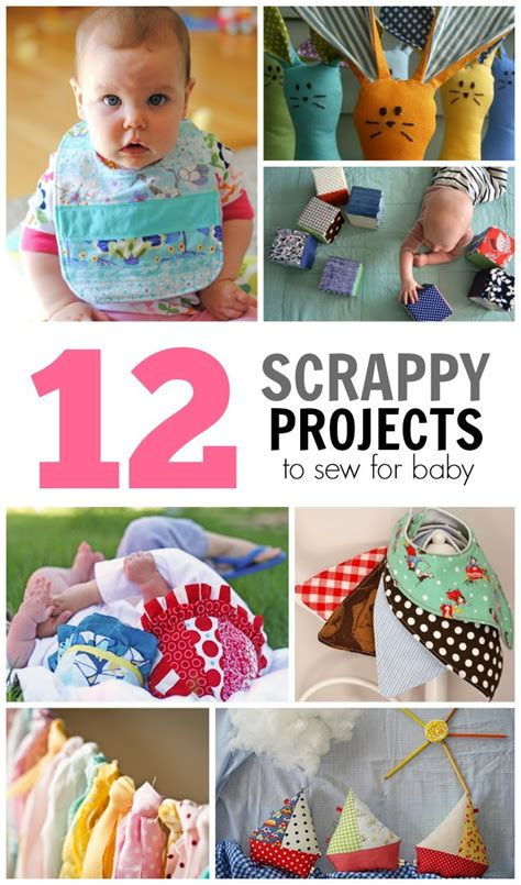 fabric crafts baby 12 scrappy projects to sew for baby crafterhours