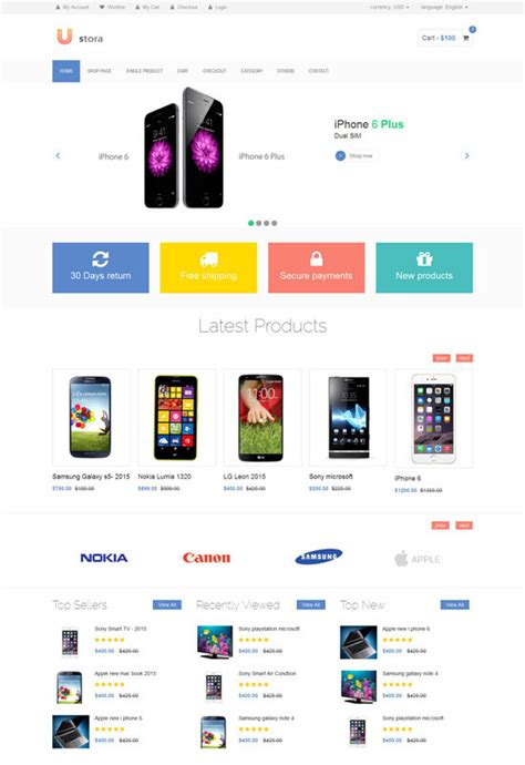 ecommerce html templates 250 free responsive html5 css3 website templates