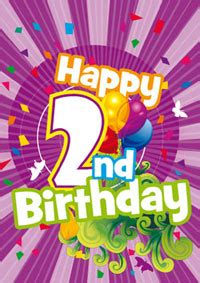 Happy Birthday Quotes For 2 Year Happy 2nd Birthday Quotes Quotesgram