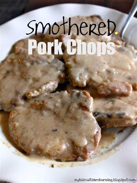 smothered lamb chops smothered pork chops the best blog recipes
