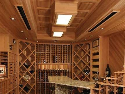 Ceiling Panel Options by Customize Your Wine Cellar Ceilings Options