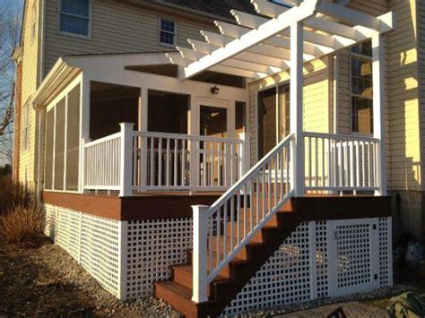 veranda treppe pergola selber bauen eine anleitung und tolle inspirationen